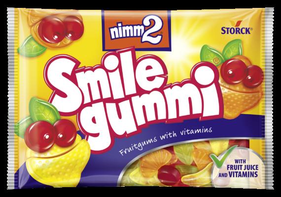 nimm2 Smilegummi - Ovocné želé s obsahem vitamínů
