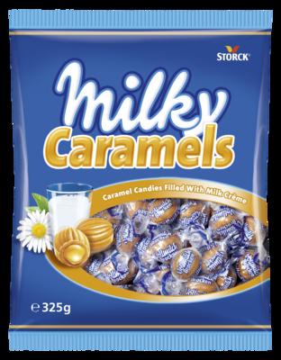 Milky Caramels - Furé-karamelový bonbón s mléčnou náplní (24%).