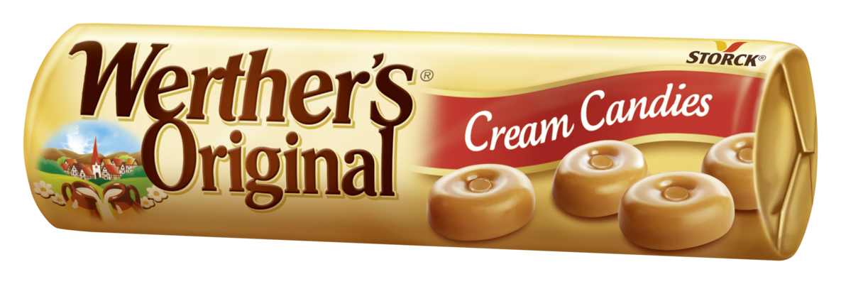 Werther´s Original Cream Candies - Bonbóny se smetanou, cukrovinka