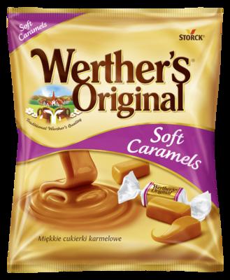 Werther´s Original Soft Caramels - Karamely se smetanou/Smotanové karamelky