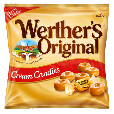 Werther's Original Cream Candies - Flødebolsjer