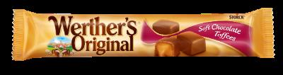 Werther's Original Soft Chocolate Toffees stickpack - Bløde/Myke karameller overtrukket med mælkechokolade (30 %)