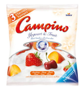 Campino Yogourt & Fruit - 3 Flavours -