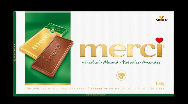 merci Tablets Hazelnut-Almond - Hazelnut-Almond