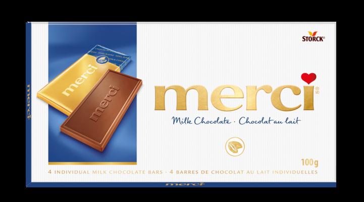 merci Chocolate Bars Milk 100g - Milk Chocolate