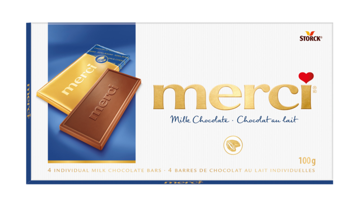 merci Tablets Milk - Milk Chocolate