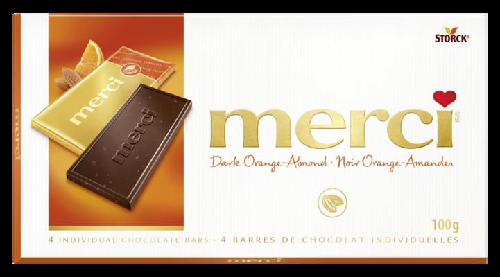 merci Tablets Orange Almond - Dark Orange-Almond