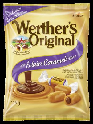 Éclairs caramels
