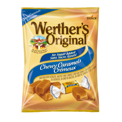 Werther's Original No Sugar Added Chewy Caramel -
