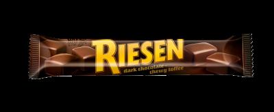 Riesen Stick Pack - Chocolate toffee in rich dark chocolate (30%)