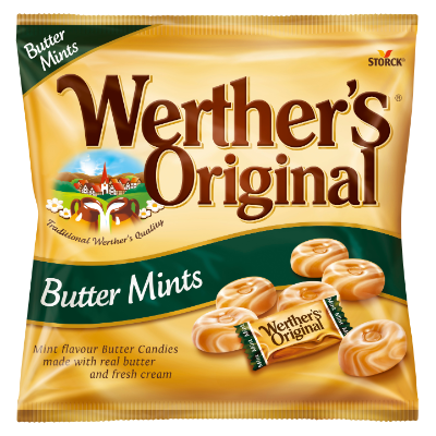 Werther's Original Butter Mints - Mint flavour Butter Candies