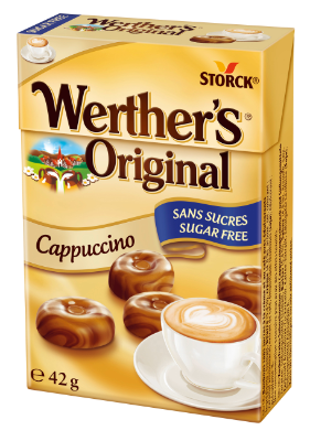 Werther's Original Sugar Free Cappuccino Flavour Butter Candies