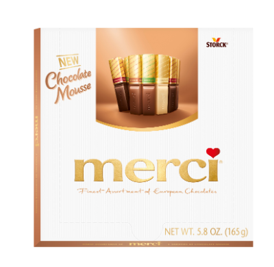 merci Finest Selection Chocolate Mousse 165g -