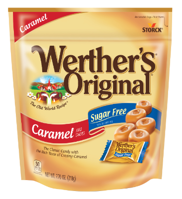 Werther's Original Butter Candies Sugar Free Stand-Up bag -