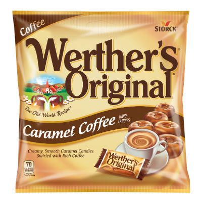 Caramel Coffee Hard Candies