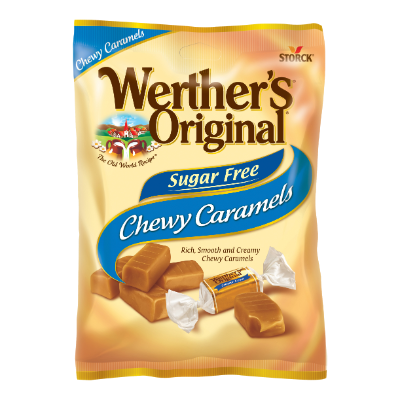Werther's Original Chewy Caramels Sugar Free -