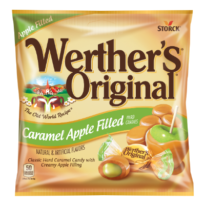 Werther's Original Caramel Apple Filled Hard Candies -