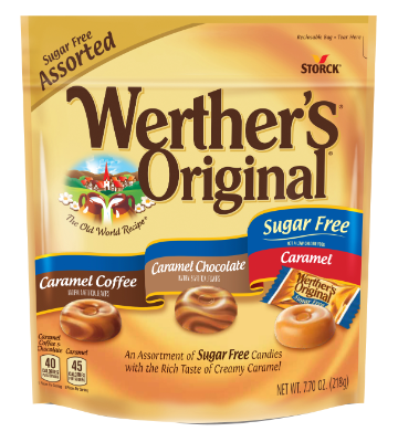 Werther's Original Assorted Hard Candies Sugar Free -