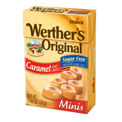 Werther's Original Minis Sugar Free -
