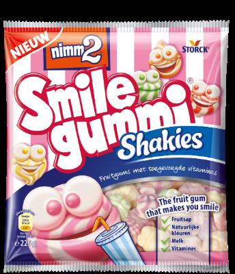 nimm2 Smilegummi Shakies - Fruitgum met toegevoegde vitamines