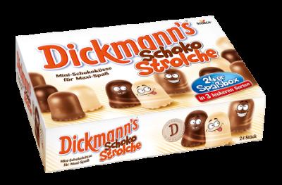 Dickmann's Schoko Strolche - Chocozoenen met ieder 42% pure, melk of witte chocolade