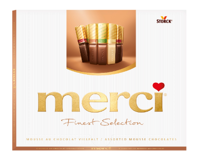 merci FS Mousse au Chocolat 210g - Chocoladespecialiteiten met mousse vulling (40%)