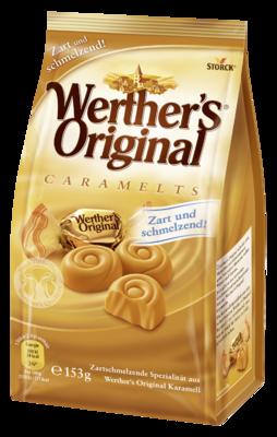 Werther's Original Caramelts - Zacht smeltende caramelsnoepjes