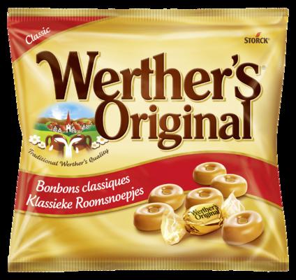 Werther's Original Klassieke Roomsnoepjes - Caramelsnoepjes met room
