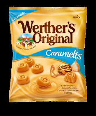 Werther's Original Caramelts - Bonbons fondants saveur caramel