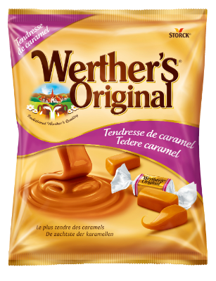 Werther's Original Tendresse de caramel - Caramels tendres