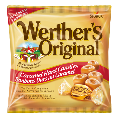Werther's Original Bonbons Durs au Caramel -