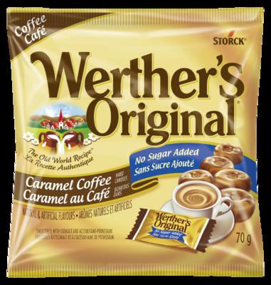 Werther's Original Café Sans Sucre Ajouté -