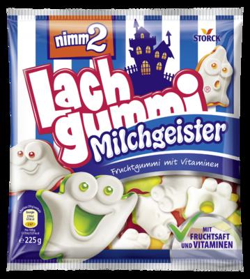 nimm2 Lachgummi Milchgeister - Gommes fruitées, avec des vitamines et du lait écrémé