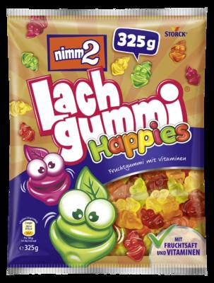 nimm2 Lachgummi Happies - Gommes fruitées, avec des vitamines