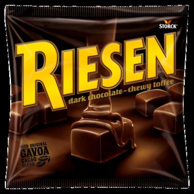 RIESEN - Chococaramel enrobé de chocolat fort en goût (30 %)
