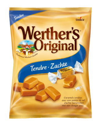 Werther's Original Caramels tendres pointe de sel - Caramels tendres