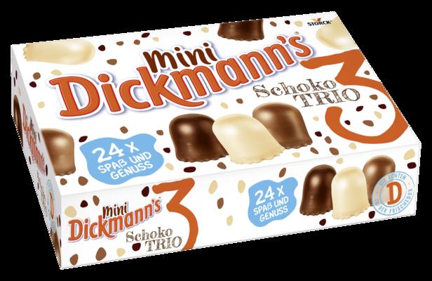 Schoko Strolche 24er - Schokoladen-Schaumküsse mit jeweils 42% Schokolade, Vollmilchschokolade oder weißer Schokolade