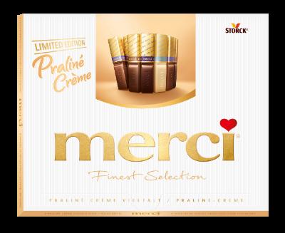 merci Praliné Cremè Vielfalt 250g - Gefüllte Schokoladen-Spezialitäten