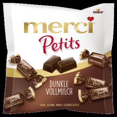 merci Petits Dunkle Vollmilch - Edel-Vollmilchschokolade
