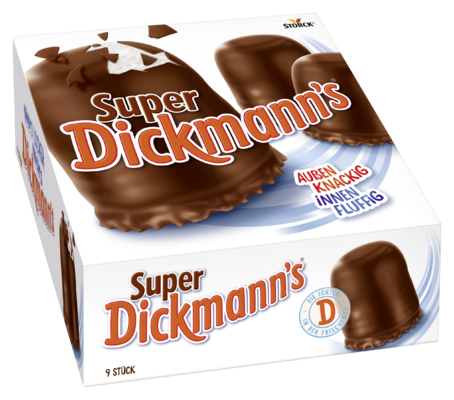 Super Dickmann's - Schokoladen-Schaumküsse