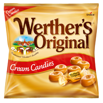 Werther's Original Sahnebonbons - Sahnebonbons / Rahmbonbons