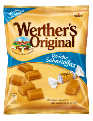 Werther's Original Rahmtoffees - Weiche Rahmtoffees