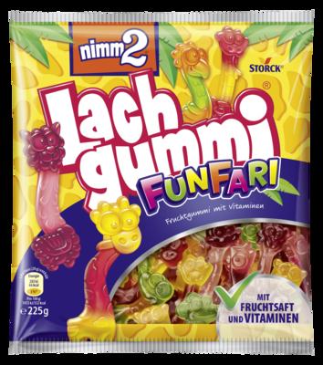 nimm2 Lachgummi FunFari - Fruchtgummi mit Vitaminen