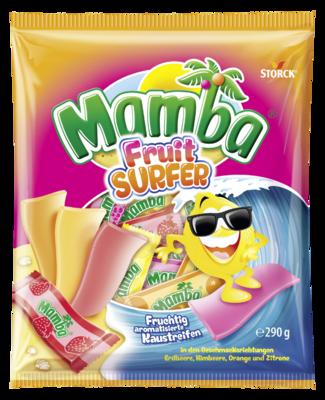 Mamba Fruit Surfer Beutel - Kaubonbons mit Fruchtgeschmack