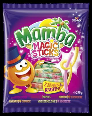 Mamba Magic Sticks Beutel - Kaubonbons mit Fruchtgeschmack
