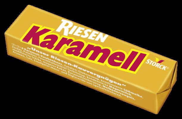 Karamell Riesen - Karamell-Kaubonbons