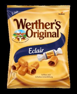 Werther's Original Eclair - Sahnetoffees mit Schokoladencremefüllung (25 %)