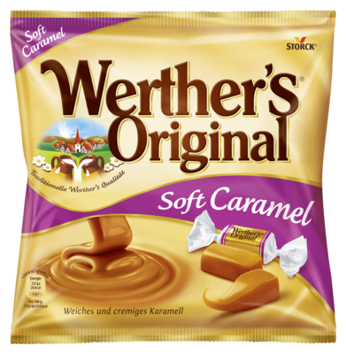 Werther´s Original Soft Caramel - Softe Sahnetoffees