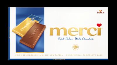 merci Táblás csokoládé - tejcsokoládé - Tejcsokoládé