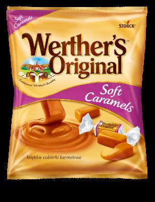 Werther´s Original Soft Caramels - Tejszínes vajkaramella
